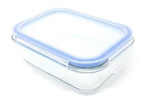 4X Congelador para Horno Seguro 350ML Cristal Recipiente ...