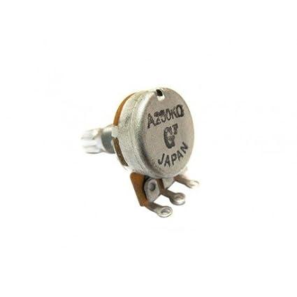 Amazon.com: POTENCIOMETRO GUITARRA ELECTRICA - Gotoh (T24/20K) Potenciometro (Logaritmico A) 250K.: Musical Instruments