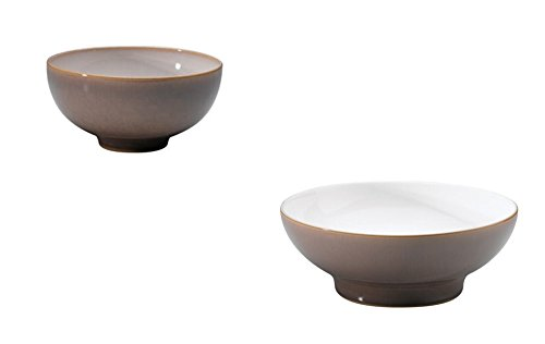 Denby Truffle Rice Bowl and Medium Serving Bowl, Set of 2 by Denby (Image #3)
