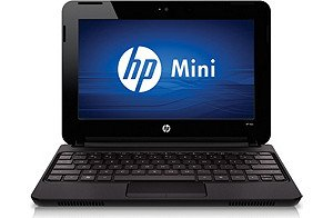- HP Mini 110-3098NR Netbook 1GB RAM, 1.66 Ghz, 160 GB HDD Laptop PC