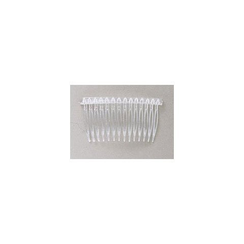 Darice Bulk Buy DIY Hair Combs Clear Plastic 42 x 70 144 Pieces Made inch The USA 144 Pieces (1-Pack) 10078-8