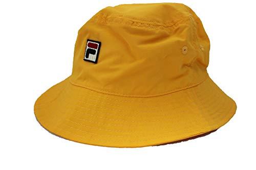 - Fila Mens Heritage Nylon Bucket Hat (Gold)