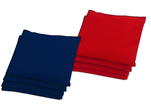 Baggo Classic Red/Navy Bean Bag Toss Bags 9.5 oz (Set of 8)