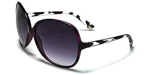 ROMANCE MUJER Ovalado Gafas de sol Mariposa CRISTALES ...
