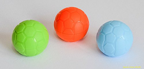 New 6 x Soccer Contact Lens Case Box Storage Soaking Travel Holder Container Cute