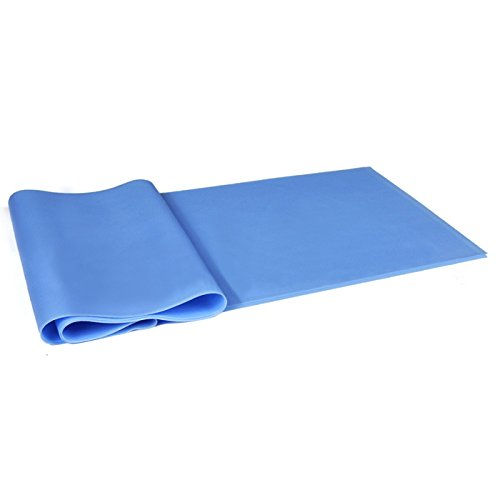 The Combo Yoga Mat 1 5mm Luxurious Non Slip Foldable: XY ZONE Pull Strap Stretching Belt Non -Slip Yoga Riband