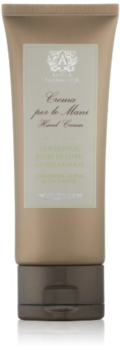 Antica Farmacista Hand Cream, Coriander, Lotus & Cucumber, 2.5 fl. oz.