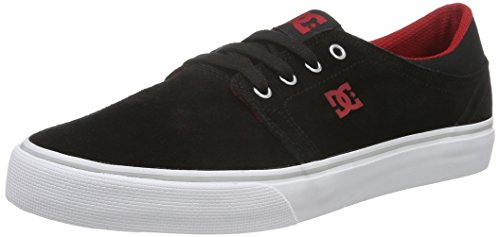 DC Shoes Trase SD - Zapatillas para hombre Negro (Black / Red)