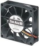 SANYO DENKI - SANACE FANS 9GV0812P4J03 AXIAL FAN, 80MM, 12VDC, 470mA