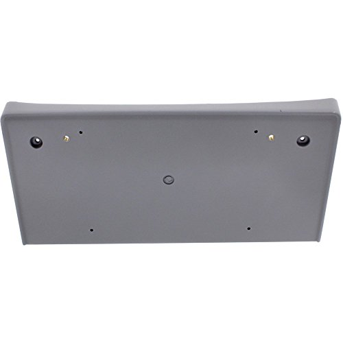 (License Plate Bracket for BMW 5-Series 04-10 Front Primed-Gray)