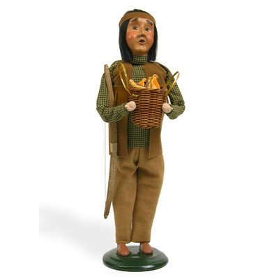 Native American Man Figurine