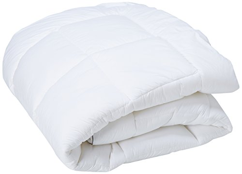 Kathy Ireland Home Essentials 233 Thread Count Cotton Fiber Mattress Pad, King, White