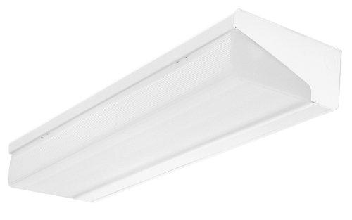 Lithonia Lighting WP 2 32 MVOLT GEB10IS 2-Light Premium Bracket Fluorescent Surface Mount (2 Light Vertical Wall Bracket)