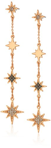 Rebecca Minkoff Stargazing Linear Drop Earrings
