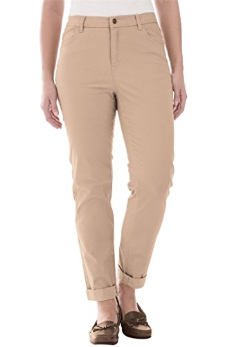 Jessica-London-Womens-Plus-Size-Relaxed-Twill-Pants
