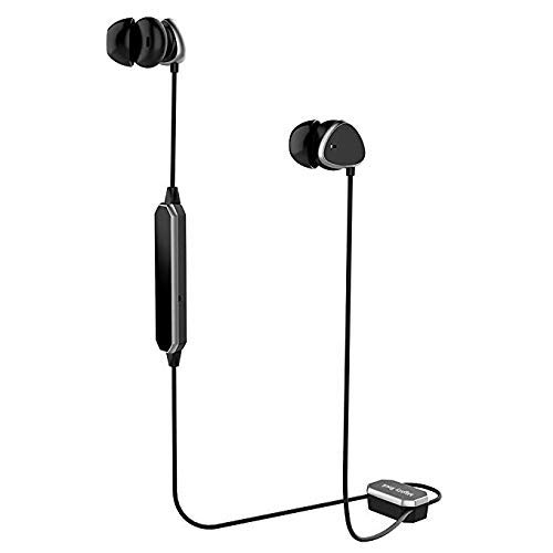 Mighty Rock Active Noise Cancelling Headphones Bluetooth Earbuds Wireless Headset with Hard Travel Case Built-in Microphone Volume Control Enhanced Bass Earbuds for Sport for Workout