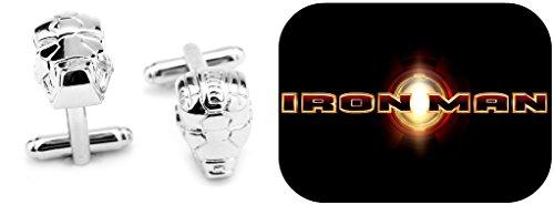 Superheroes Marvel Comics (Avengers) Ironman Cufflinks