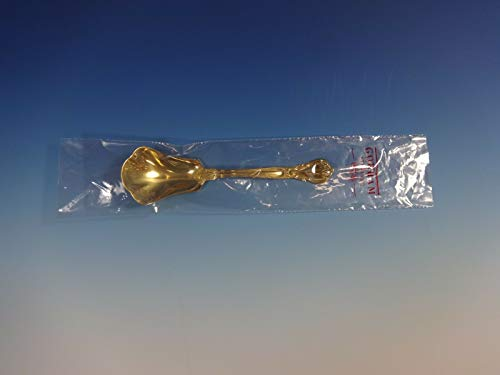 Chantilly-Vermeil by Gorham Sterling Silver Sugar Spoon 6