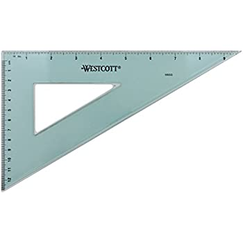 Fairgate 12-Inch Aluminum Triangle 30//60 AT230-12