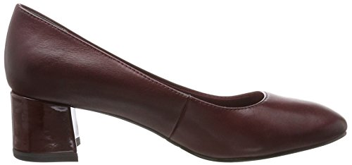 Mujer Tamaris Zapatos Para 22306 merlot Tacón Rojo De ZAXx1wqrA