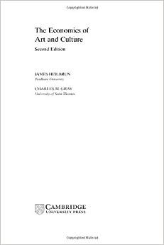 Book The Economics of Art and Culture