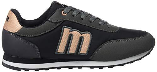 Femme raspe Naranja Negro Basses Oscuro 56406 Nylon Medi C42955 Gris Sneakers Mtng RqpwHXtx