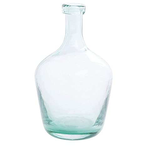Amazon Aqua Glass Vase 6 Dia X 10 H Industrial Scientific