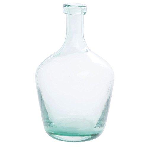 Aqua Glass Vase - 6
