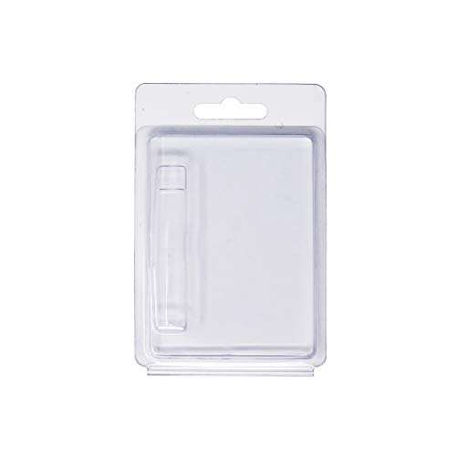 Clamshell Blister Packaging for .5ml & 1ml Cartridges - PACKAGING ONLY - Variety Options (0.5ml 25 Pack)