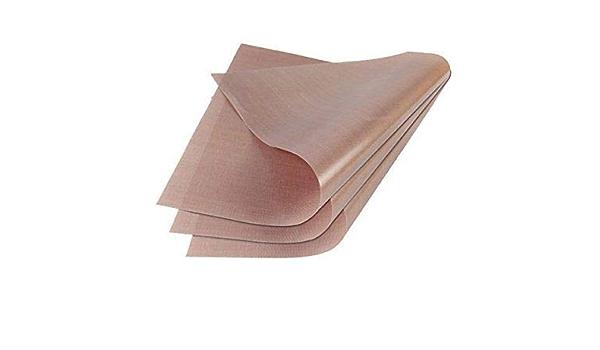 PTFE Teflon Transfer Sheets for Iron Heat Press Reusable Graphic Art Craft Paper