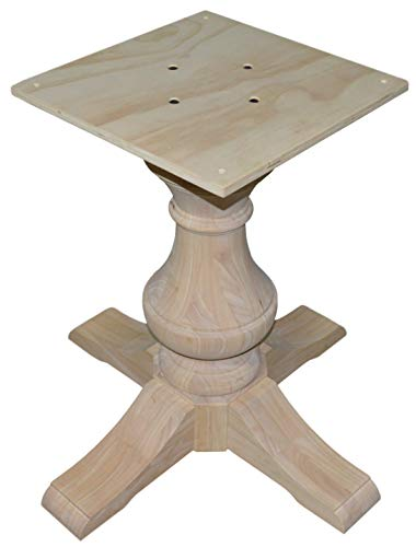 "BingLTD - 29"" Tall Taylor Round Pedestal Table Base (PD-R2901-RW-UNF)"