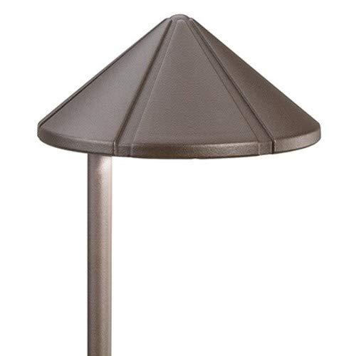Kichler Lighting 15815AZT LED Side Mount Low Voltage Landscape Path and Spread Light, Textured Architectural Bronze