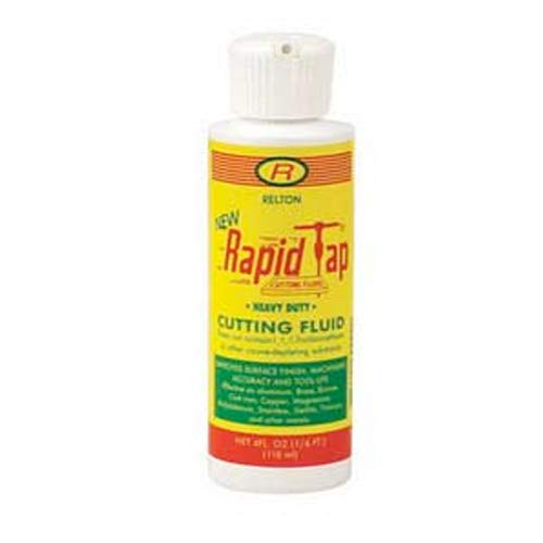 Rapid Tap Heavy Duty Cutting Fluid 4 Ounce (Best Cutting Oil For Drilling)