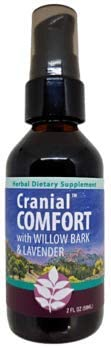 WishGarden Herbs - Cranial Comfort, Organic Herbal Tension Headache Relief Supplement, Soothes and Supports Relief from Tension Headaches 2 Ounce Pump