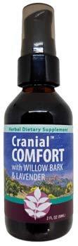 WishGarden Herbs Cranial Comfort Herbal Tension Headache Relief Supplement, 2 oz Pump