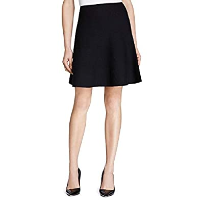 Theory Womens Lotamee Wool A-Line Knit Skirt