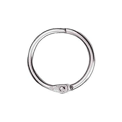 100% de qualité supérieure économiser style à la mode Produit Neutre Anneaux métalliques brisés en métal diamètre 30 mm Gris  Sachet de 10