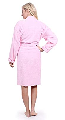 7f41e1347a Turkuoise Women s Terry Cloth Robe 100% Premium Turkish Cotton ...