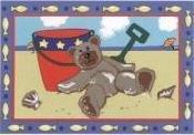 Beach Bear - 39x58