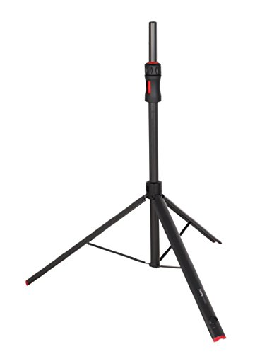 (Gator Frameworks ID Series Speaker Stand with Lift Assist and Adapter to Fit 35mm and 38mm Speaker Mounts; 48