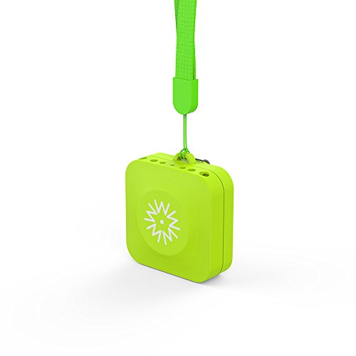 Winext Portable wearable Air purifier, Personal Mini Ionic Air Purifier ,USB Rechargeable. (green)