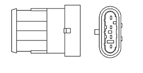 Marvelous Amazon Com Magneti Marelli Oxygen Sensor Fits Fiat Albea Marea Wiring 101 Cularstreekradiomeanderfmnl