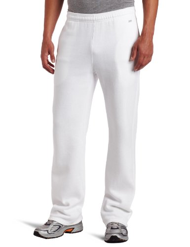 Soffe Men's Training Fleece Pocket Pant White Small