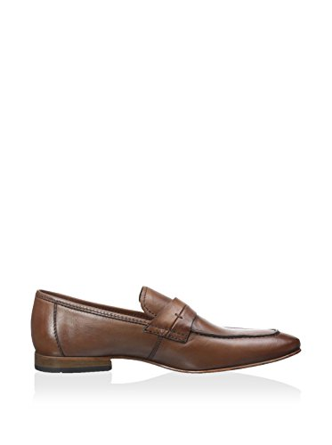 Kenneth Cole Reaktions Mens Stick Skift Öre Dagdrivare, Cognac