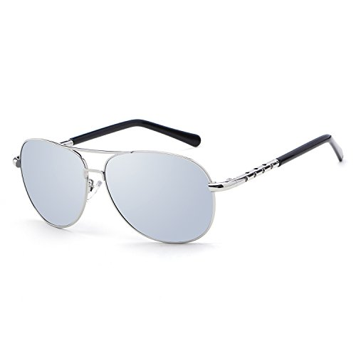 HDCRAFTER Fashion Men Women Polarized Outdoor Driving Sunglasses Small - Through Glasses Frames See