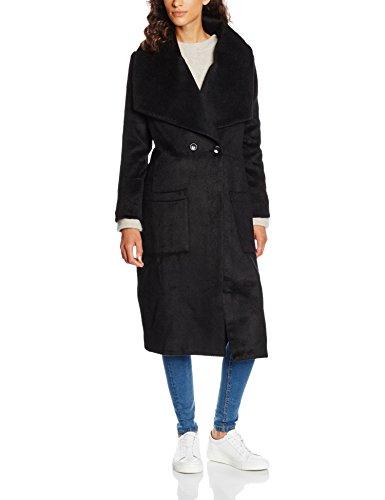 Religion Craft Coat, Abrigo para Mujer Negro