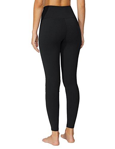 Baleaf Women's High Waist Yoga Pants Non See-Through Fabric