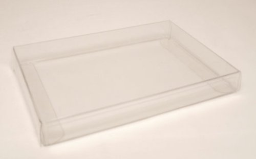 Amazon clear plastic packaging boxes made to fit 375 x 5125 clear plastic packaging boxes made to fit 375quot x 5125quot cards envelopes m4hsunfo