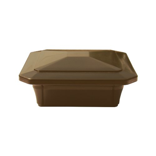 Fiberon 4 X 4 Brown Composite Post Cap