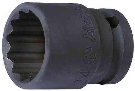 10 mm 1//2 6 pans Douille /à chocs impact Hans